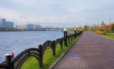 В парке 850-летия Москвы завершены работы по благоустройству